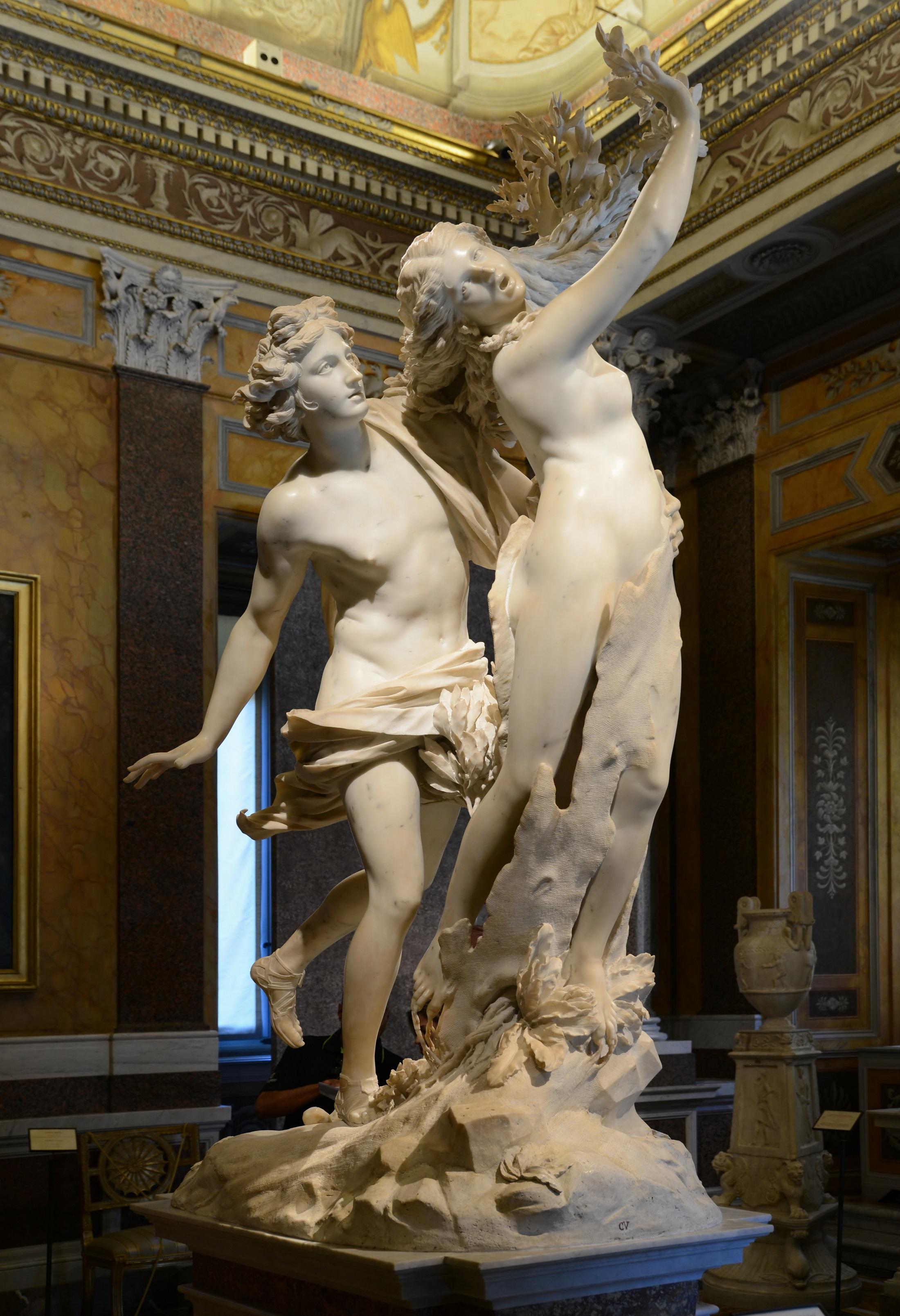 Apollo & Daphne - Borghese Gallery (rome)