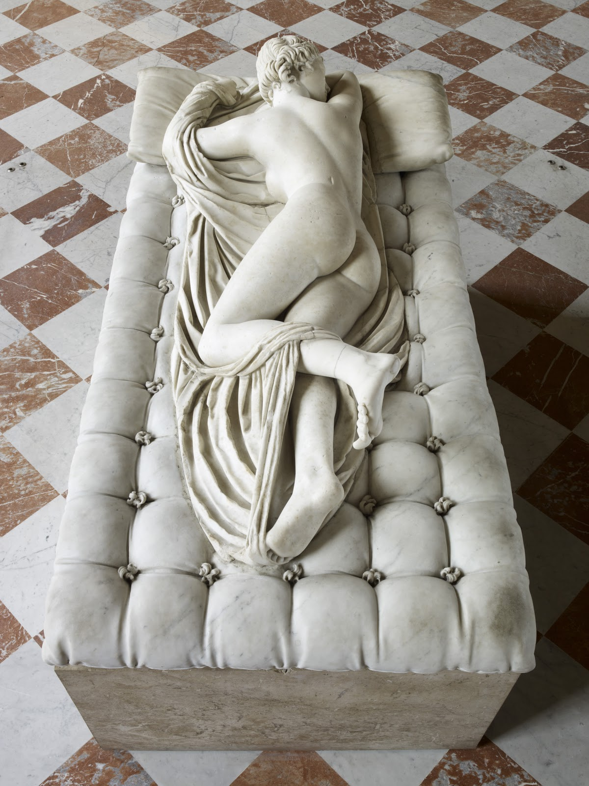 The Sleeping Hermaphrodite - Borghese Gallery (Rome)