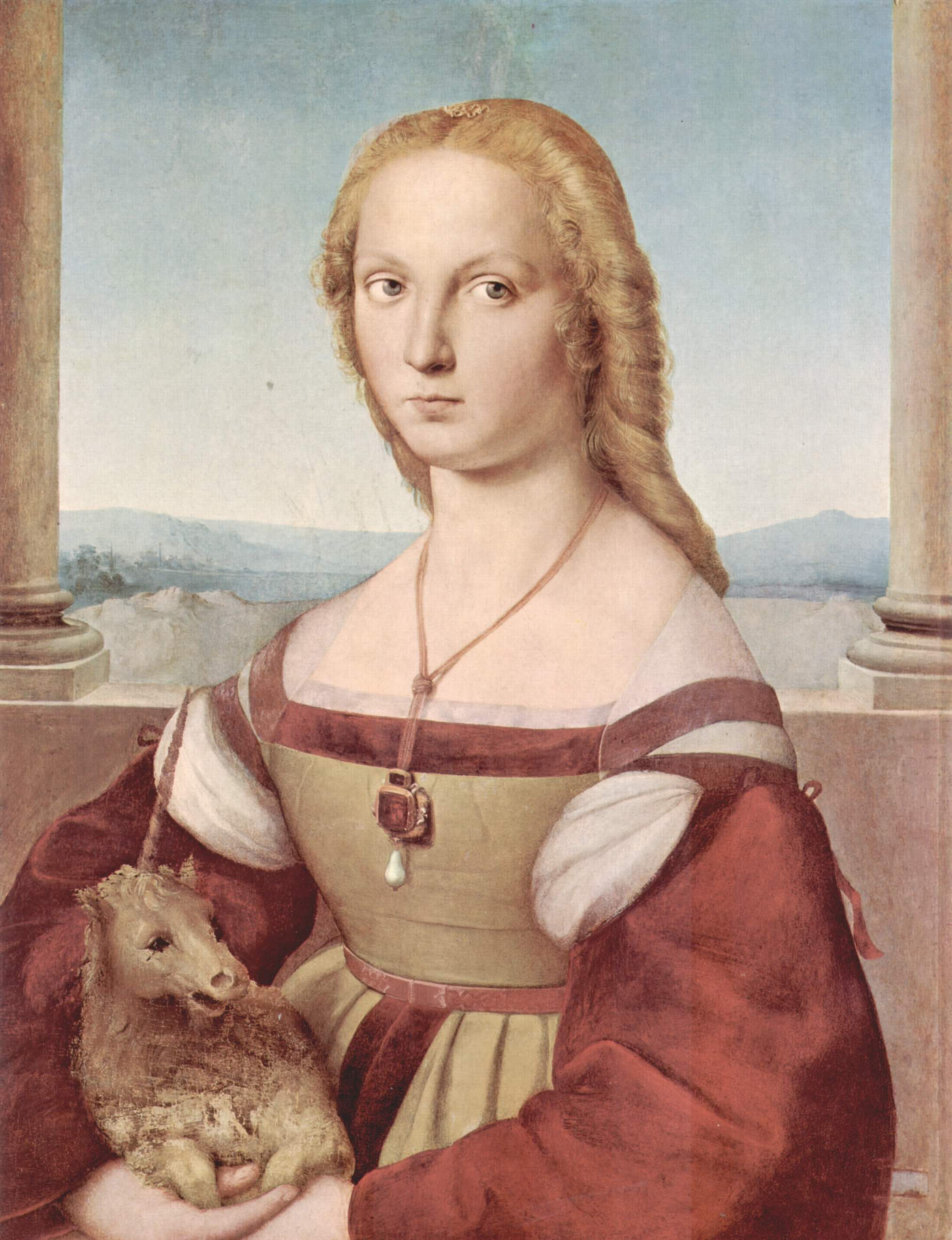 Young Woman with a Unicorn - Borghese Gallery (Rome)