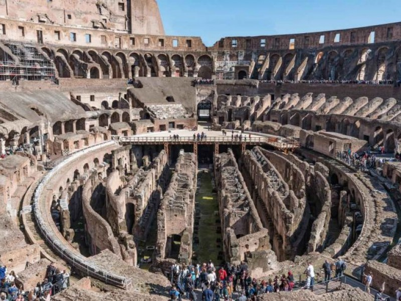 Colosseum Underground Tour With Ancient Rome Through
