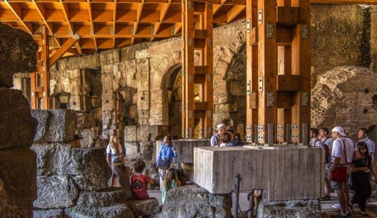 VIP Colosseum Underground Tour, Arena Floor, Roman Forum & Palatine Hill