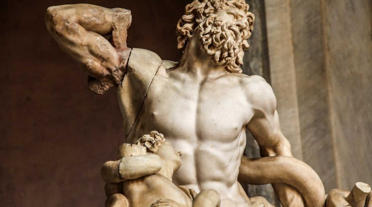 The Laocoon of the Vatican Museums