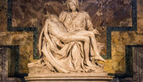 The Pietà by Michelangelo