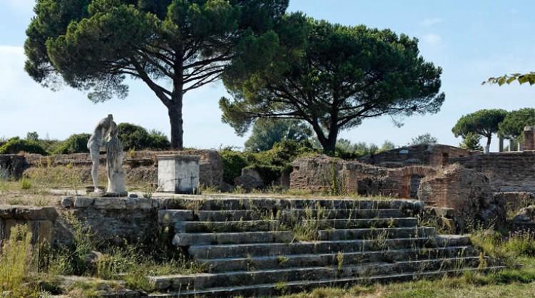 Port Antica Ostia Rome