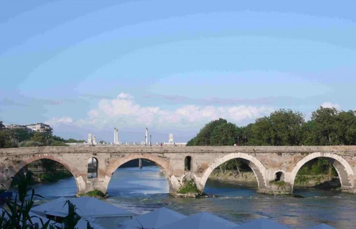 Rome Ponte Milvio or the Milvian Bridge