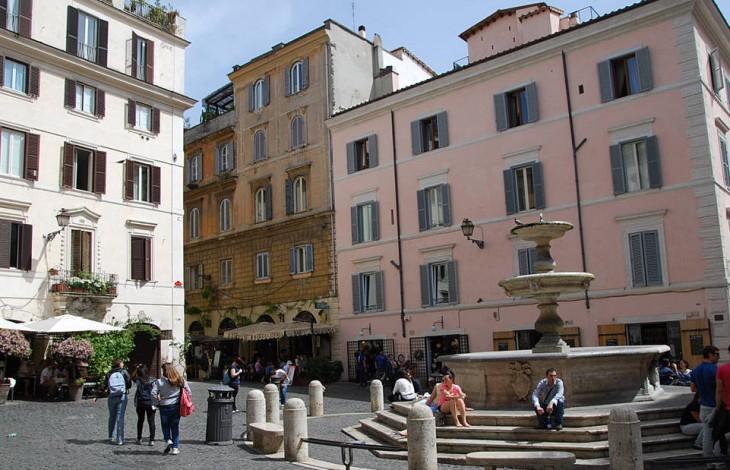 Monti Neighborhood Rome