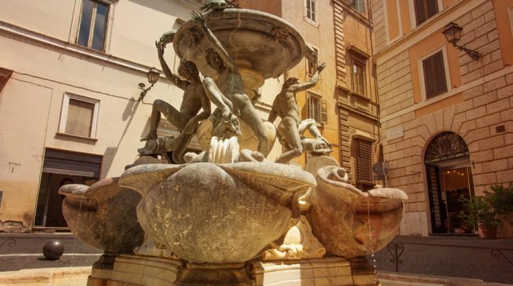 The Turtle Fountain - Rome Tours