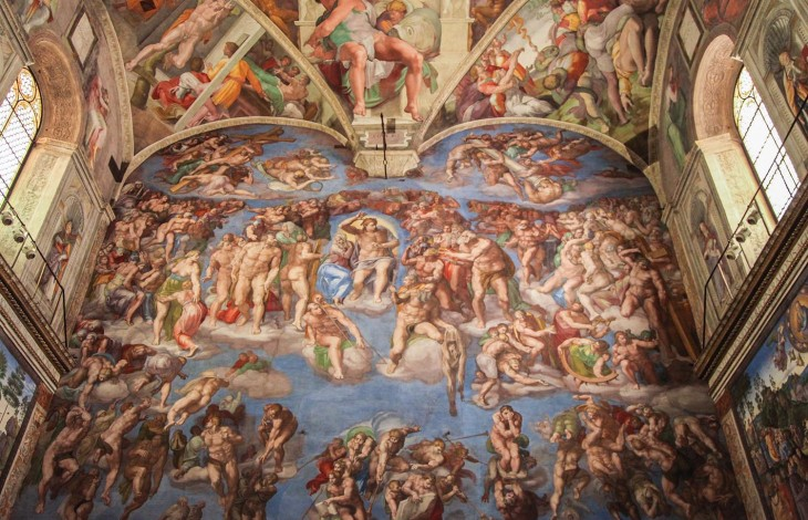 Nudity and Controversy in the Sistine Chapel