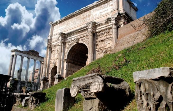 Arch of Septimius Severus - Rome Tour