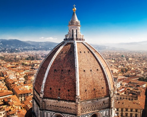 The innovation of Brunelleschi's Dome