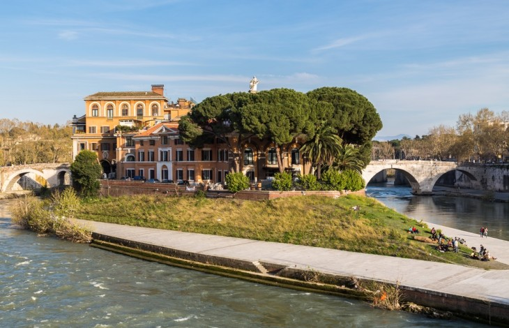 The story of the Tiber Island