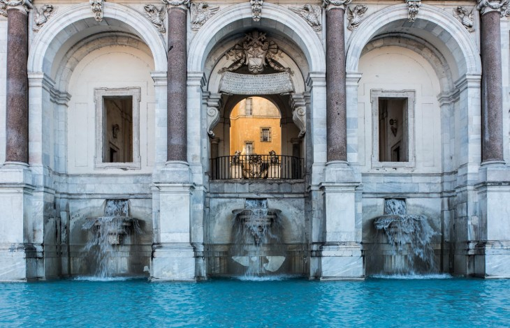 The countless fountains of Rome
