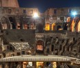 Colosseum Tour by Night with Underground & Roman Forum Overview:  Romantic Experience