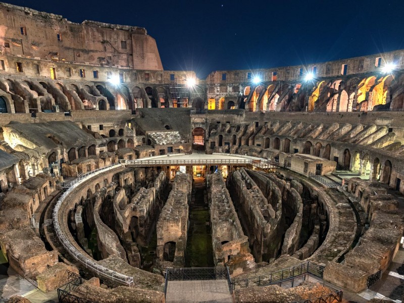 Colosseum Night Tour With Underground Through Eternity Tours