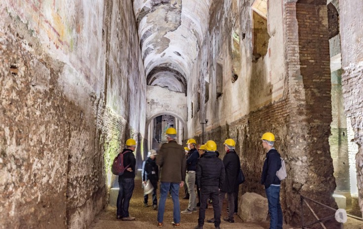 The Domus Aurea: Nero's pleasure palace in Rome