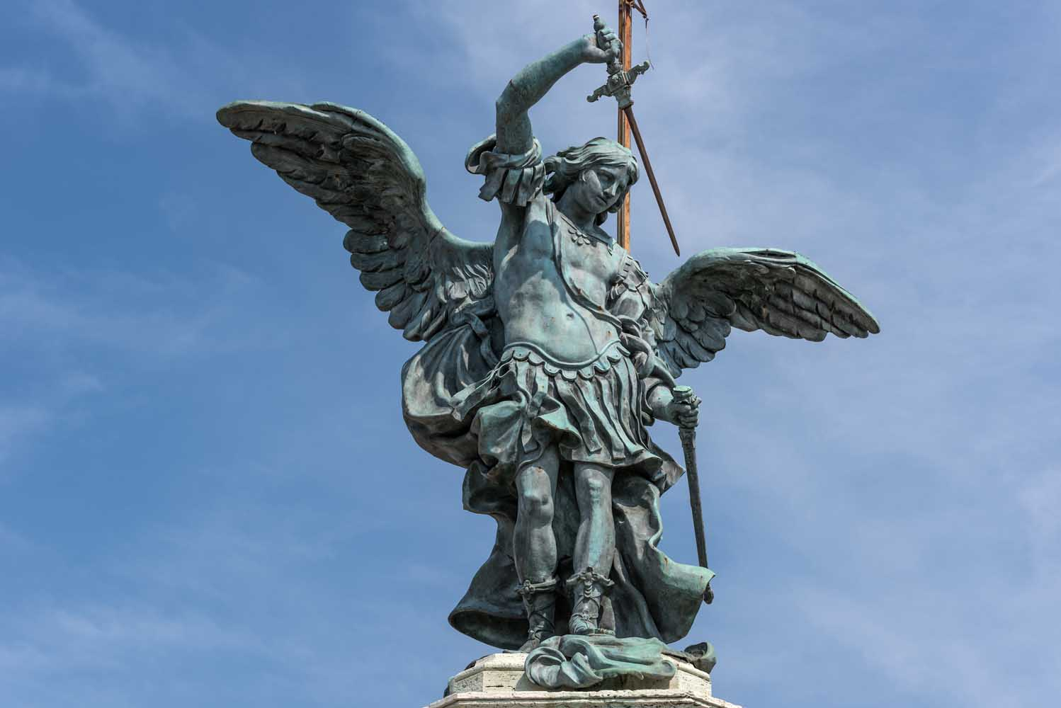 Castel st Angelo Holy Angel