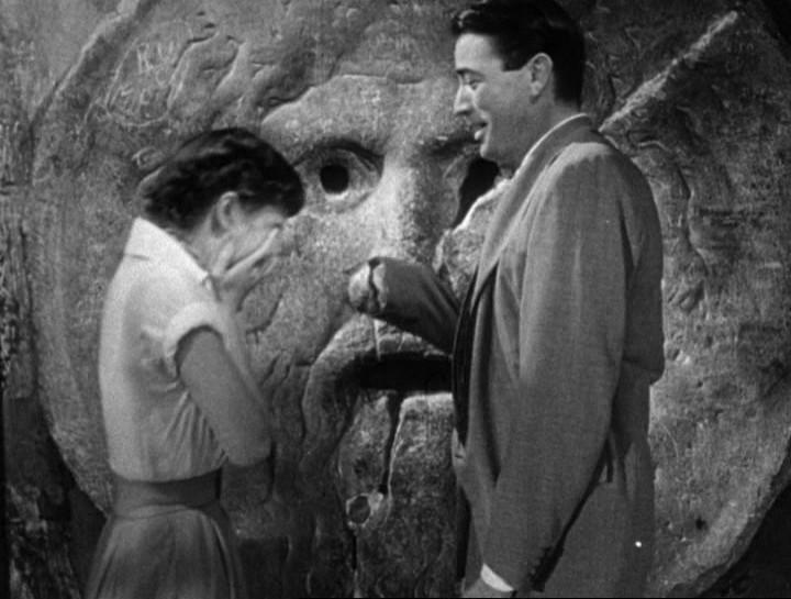 Bocca della Verità Audrey Hepburn Gregory Peck