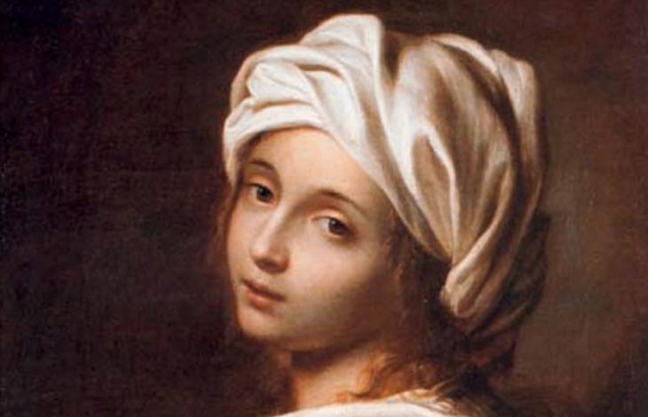 Guido Reni's portrait of Beatrice Cenci in Barberini Museum in Rome