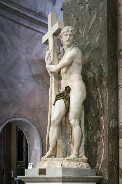 The Risen Christ by Michelangelo Buonarroti
