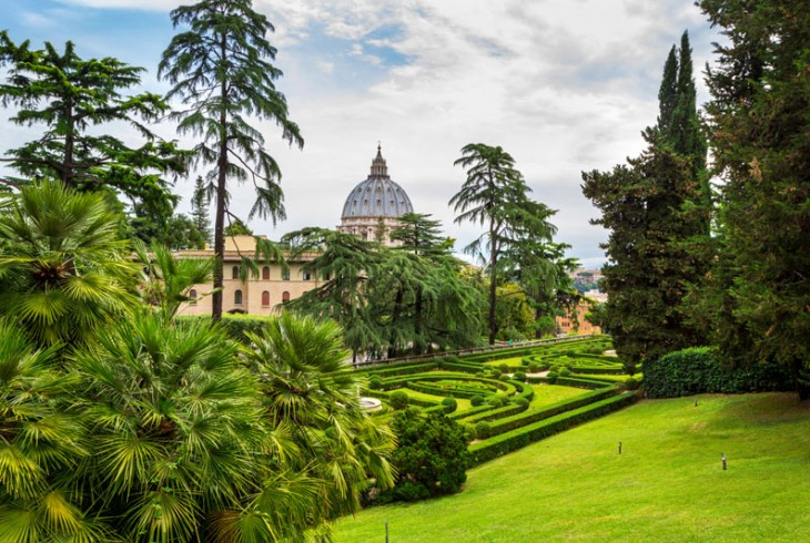 The Pope's Personal Garden of Eden: A Guide to the Vatican Gardens
