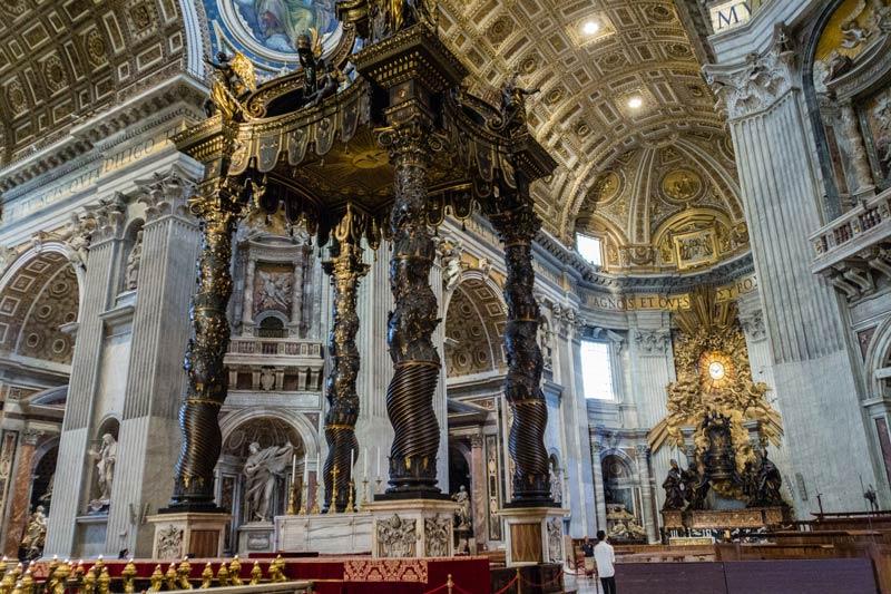 Bernini's Altar