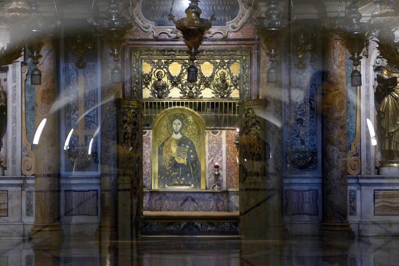 saint peter's grave in the Vatican