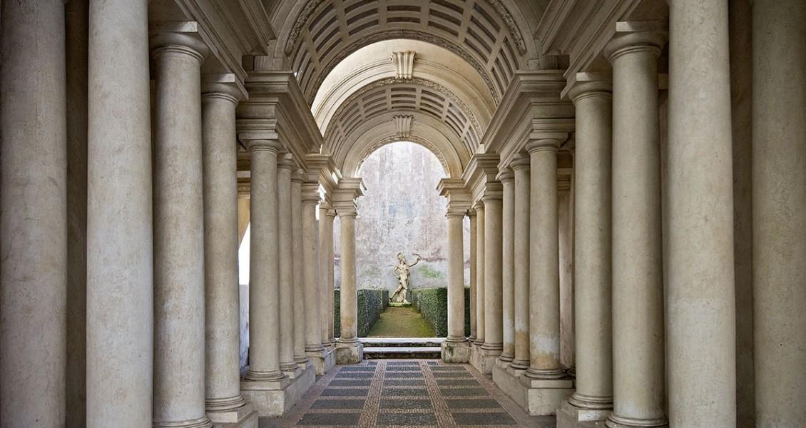 Borromini's Perspective Corridor at Rome's Palazzo Spada