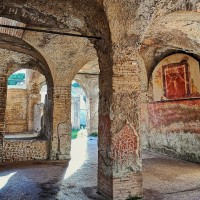 Learn about ancient Roman food culture in Ostia's thermopolium, or fast food restaurant