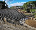 Sit in the bleachers of Ostia's evocative theatre and learn about ancient stagecraft