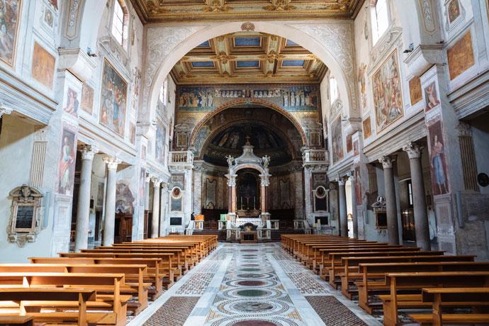 Santa Prassede in Rome