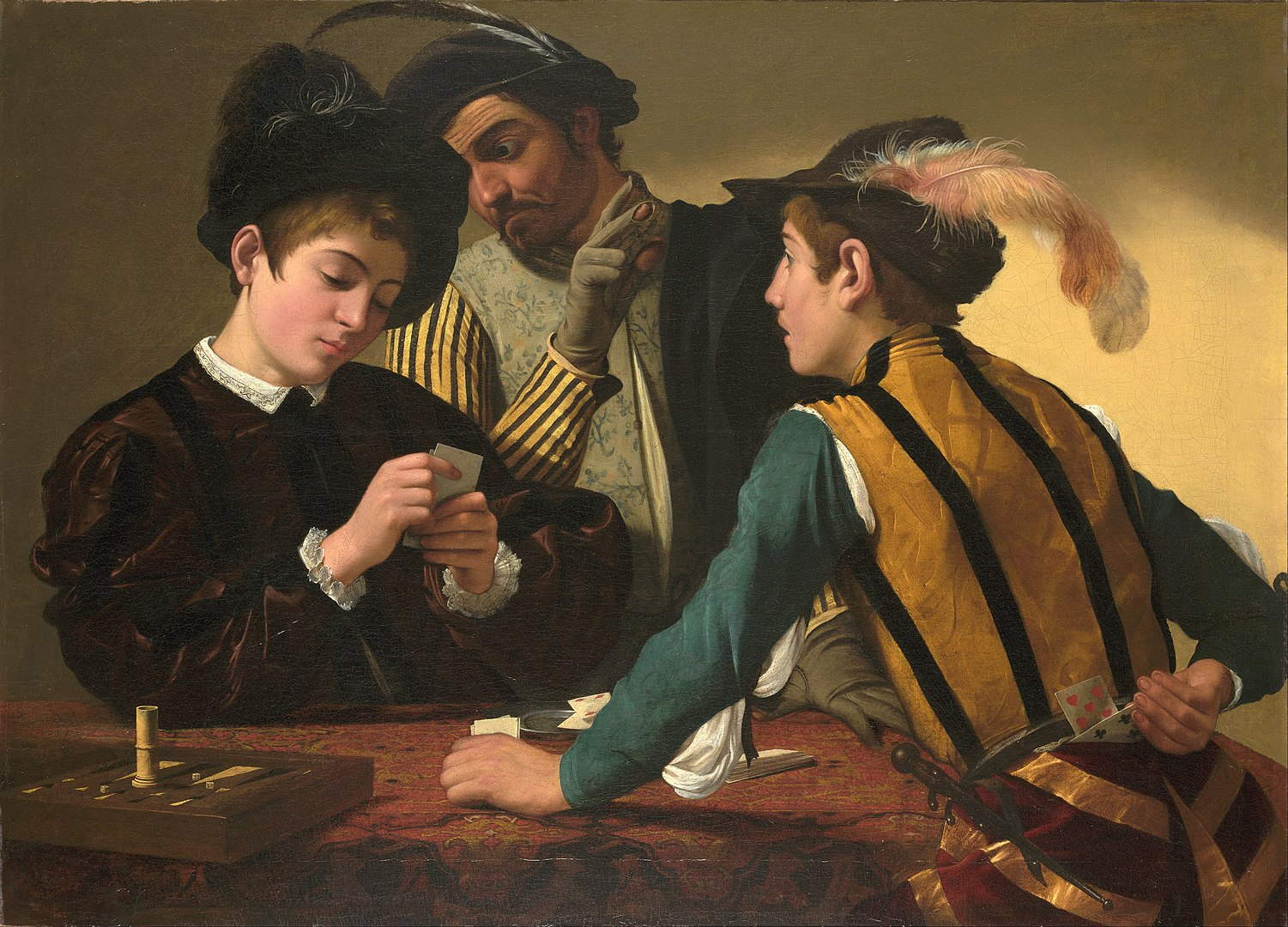 Caravaggio Card Sharp