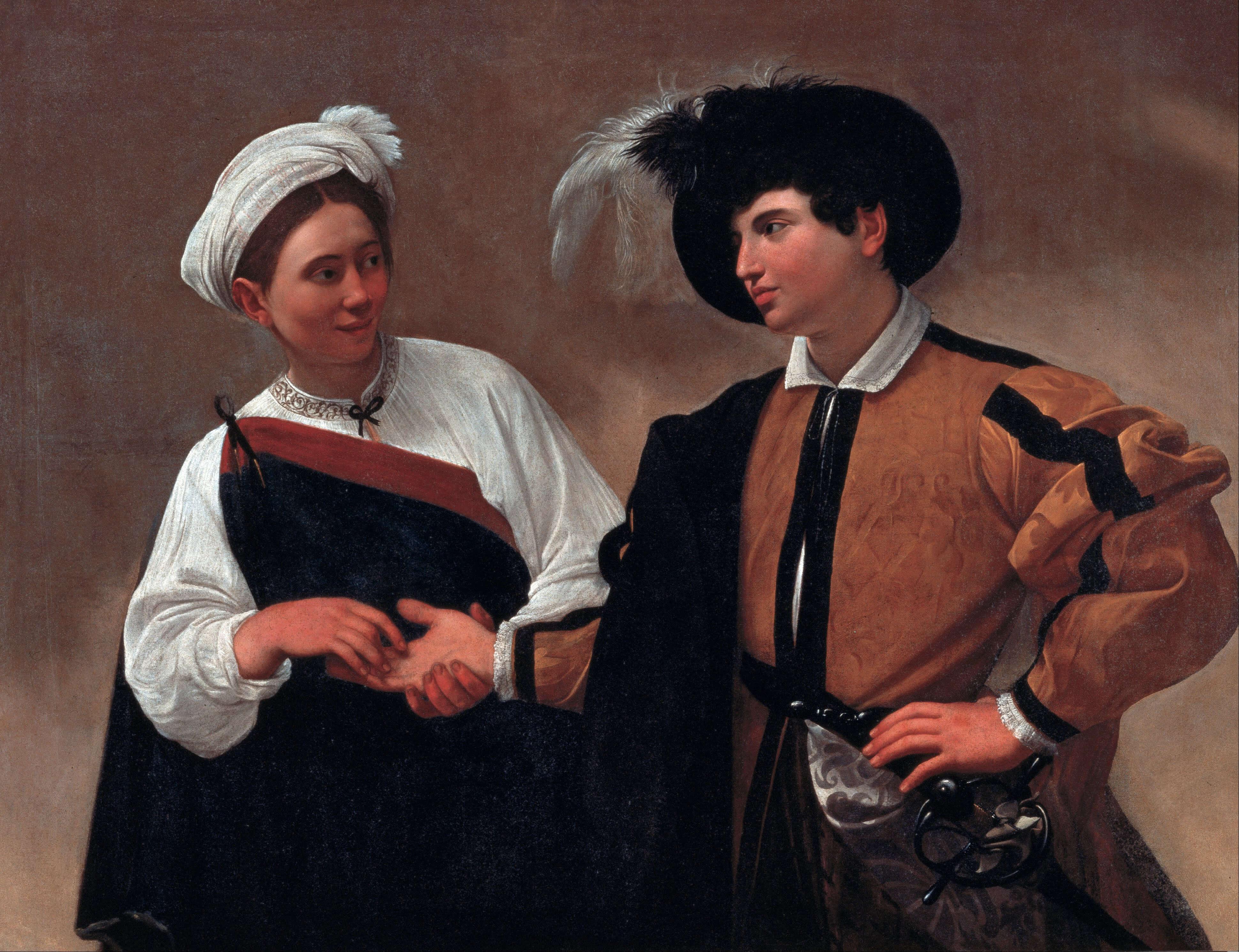 Caravaggio Fortune Teller Capitoline