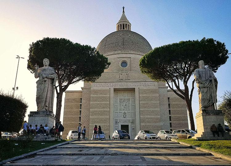 Basilica dei Santi Pietro e Paolo, Eur, Rome