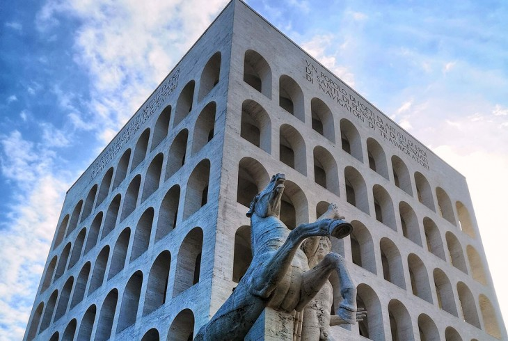 Mussolini, a World's Fair and a Failed Futurist Fantasy: A Guide to the Modernist Architecture of Rome's EUR Quarter