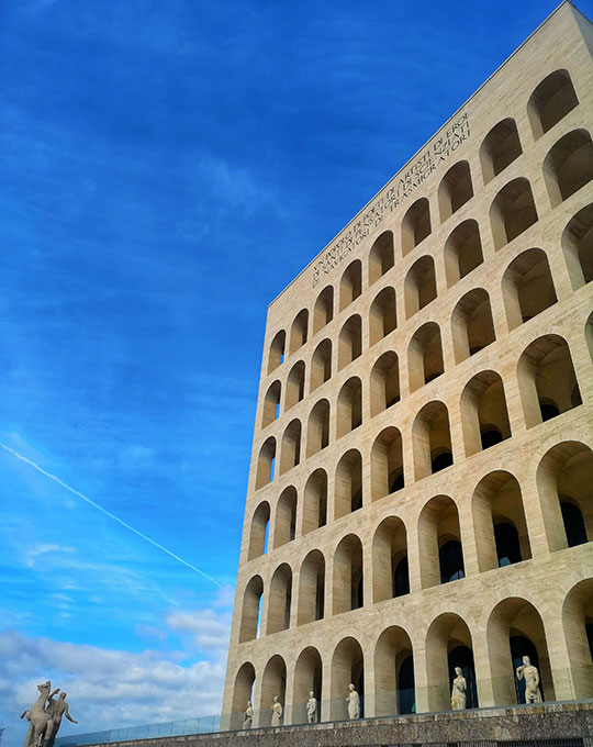 Square Colosseum, Rome
