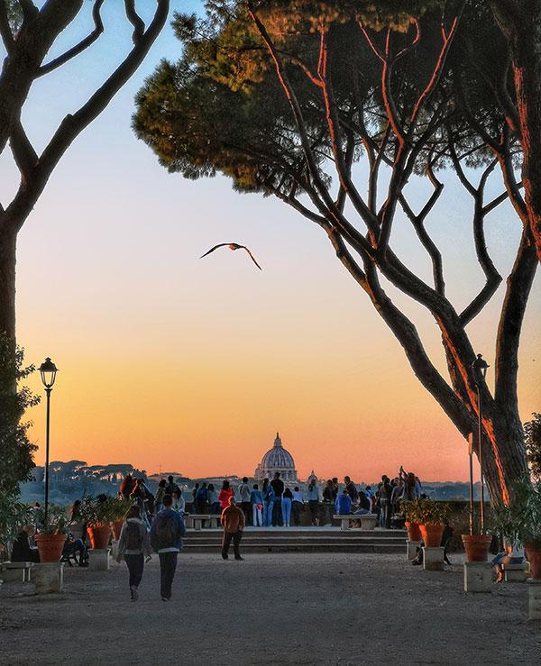 The Orange Garden, Rome