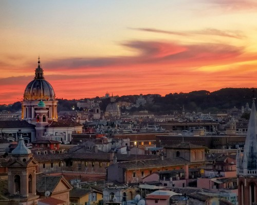 8 of the Best Places to See the Sunset in Rome