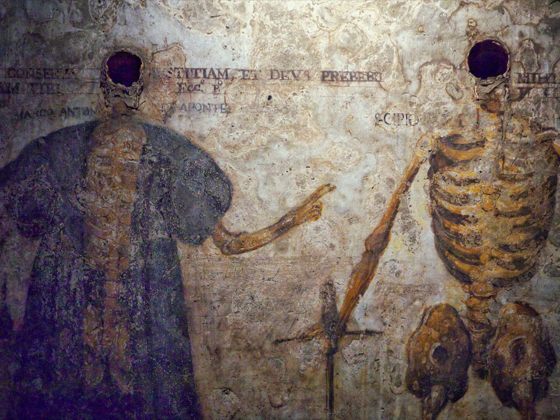 Catacombs of San Gaudioso in Naples