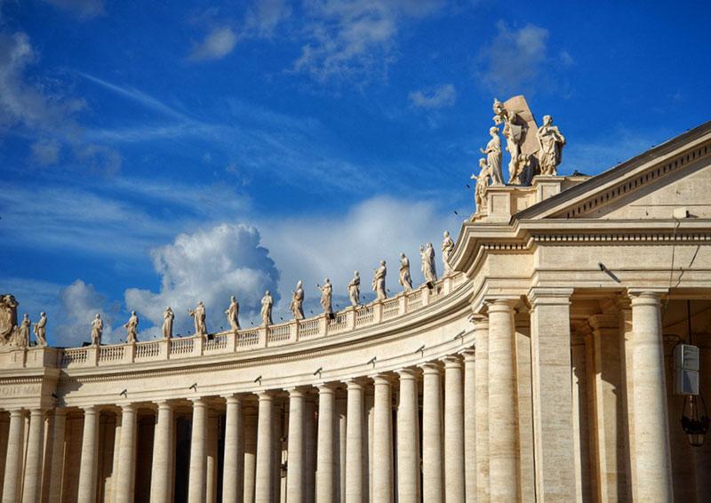 Bernini's Colonnade