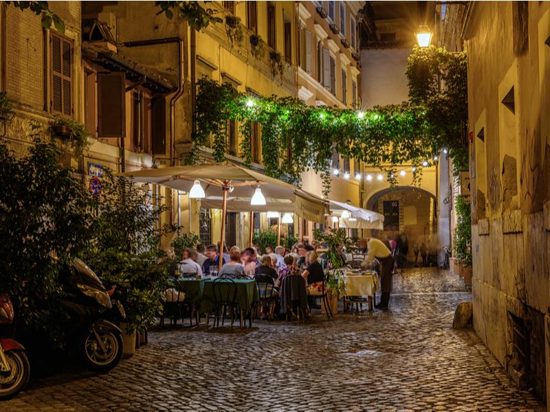 Trastevere, restaurant in Rome