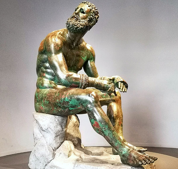 Boxer at Rest, Palazzo Massimo alle Terme, Rome