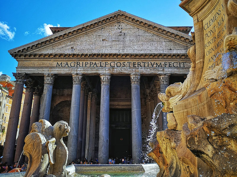 Rome's temple, Pantheon