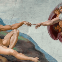 Come face-to-face with some of the most iconic images ever painted in the Sistine Chapel
