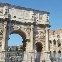 The fabulous Arch of Constantine is Rome's largest triumphal arch, celebrating the achievements of the emperor