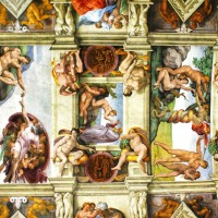 Come face-to-face with Michelangelo's Sistine Chapel ceiling