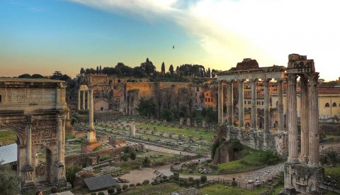 Immerse yourself in ancient Rome on our tour of the Roman Forum