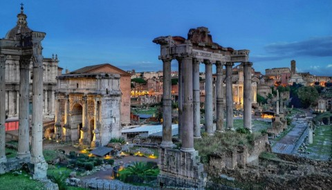 Wander through the spectacular remains of the Roman Forum