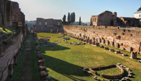 Wander through the Imperial palaces on the Palatine hill