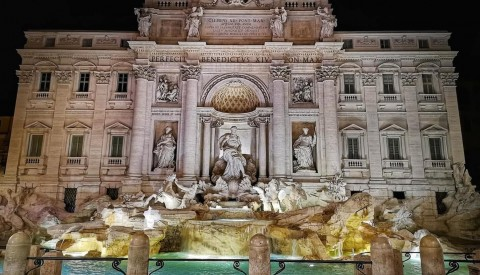 Visiting the Fontana di Trevi is a once in a lifetime experience