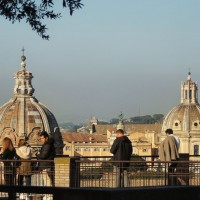 Enjoy spectacular panoramas across Rome from the Palatine Hill